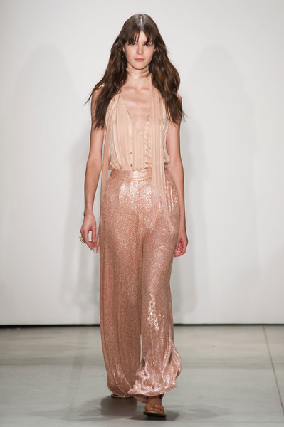Erin Fetherston at New York Spring 2017 [fashion model,fashion show,runway,fashion,clothing,dress,haute couture,long hair,shoulder,one-piece garment,gown,supermodel,socialite,runway,fashion,haute couture,model,fashion model,new york fashion week,fashion show,runway,fashion show,model,haute couture,supermodel,fashion,socialite,gown,two pence]