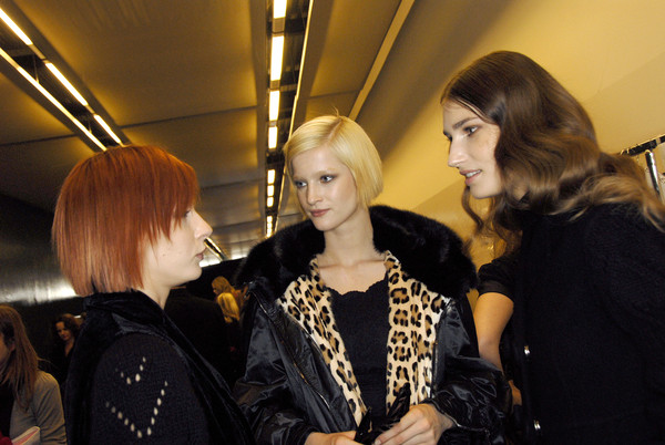 Ermanno Scervino at Milan Fall 2007 (Backstage)