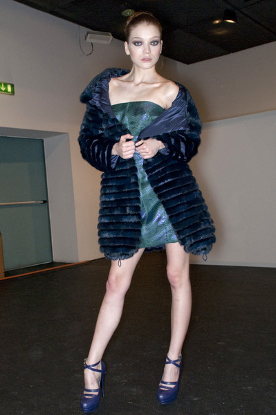 Ermanno Scervino at Milan Fall 2009 (Backstage)