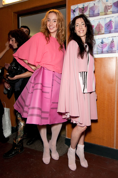 Estrella Archs at Paris Spring 2011 (Backstage)