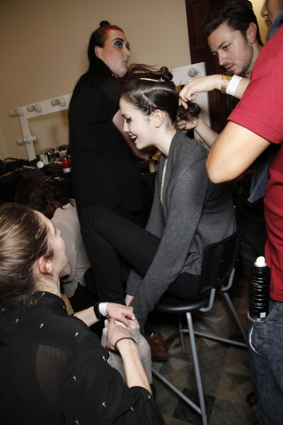 Felder Felder at London Fall 2011 (Backstage)