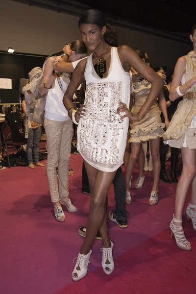 Frankie Morello at Milan Spring 2009 (Backstage)