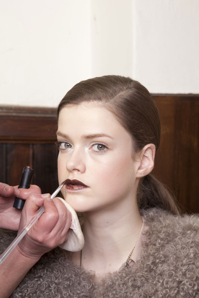 Gaetano Navarra at Milan Fall 2011 (Backstage)