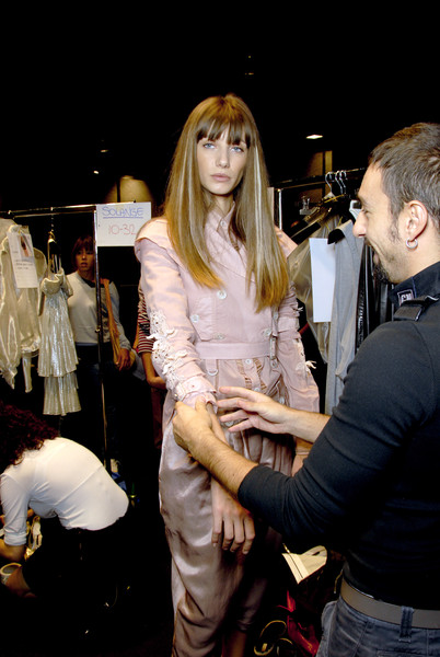 Gaetano Navarra at Milan Spring 2007 (Backstage)