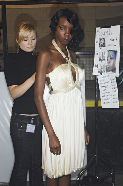 Gavin Douglas at London Spring 2008 (Backstage)