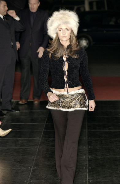 Geen Morgan at Milan Fall 2002