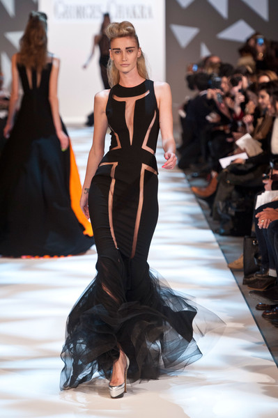 Georges Chakra at Couture Spring 2013