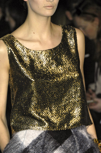 Giambattista Valli at Paris Fall 2009 (Details)