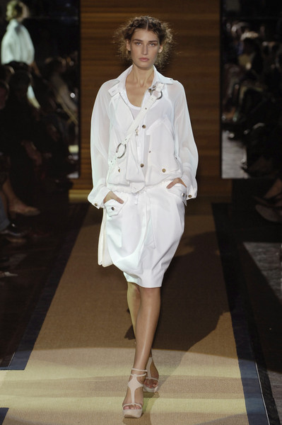 Gianfranco Ferré at Milan Spring 2006