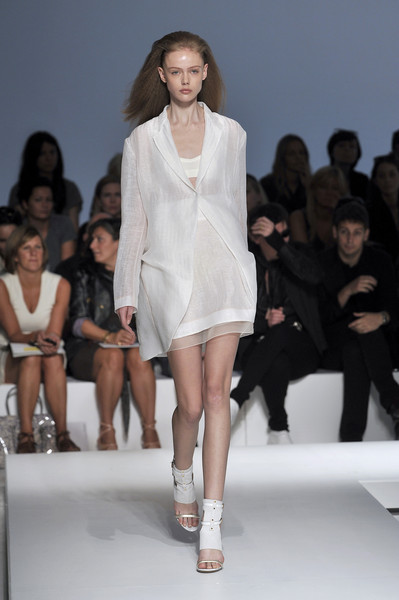 Gianfranco Ferré at Milan Spring 2010
