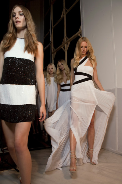 Gianfranco Ferré at Milan Spring 2011 (Backstage)