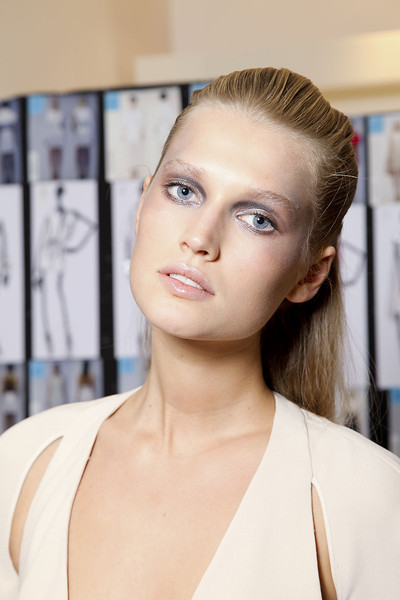 Gianfranco Ferré at Milan Spring 2012 (Backstage)