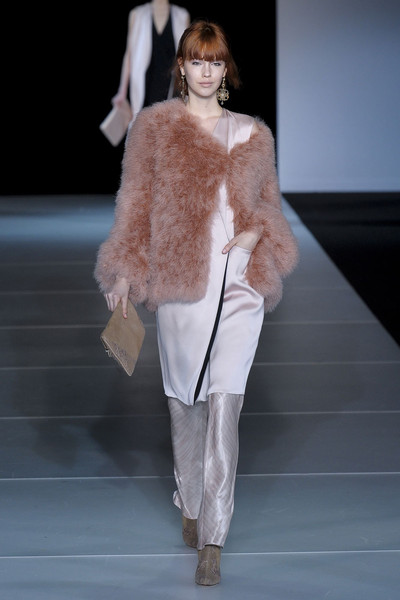 Giorgio Armani at Milan Fall 2011