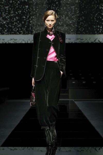 Giorgio Armani at Milan Fall 2020