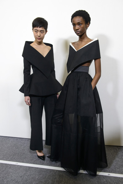 Givenchy at Couture Spring 2018 (Backstage)
