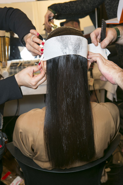 Gucci at Milan Fall 2013 (Backstage)