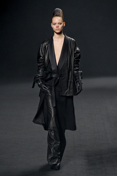 Haider Ackermann at Paris Fall 2011