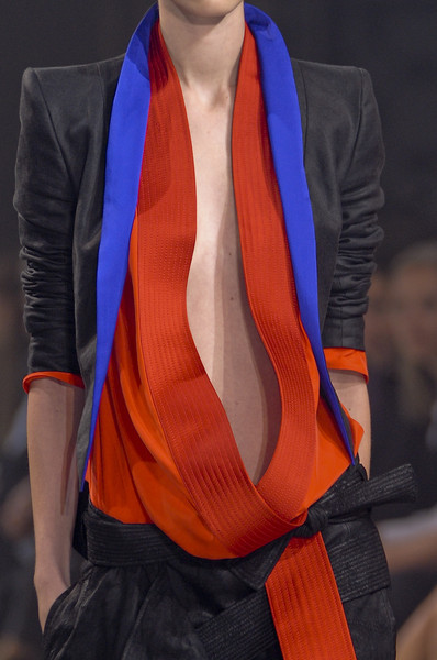 Haider Ackermann at Paris Spring 2011 (Details)