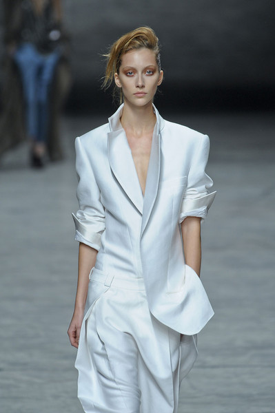 Haider Ackermann at Paris Spring 2012