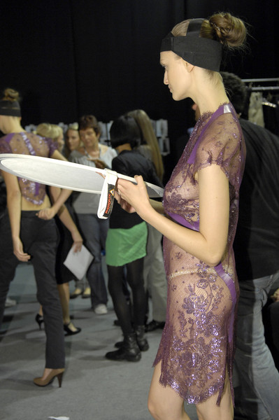 Hamish Morrow at London Spring 2007 (Backstage)