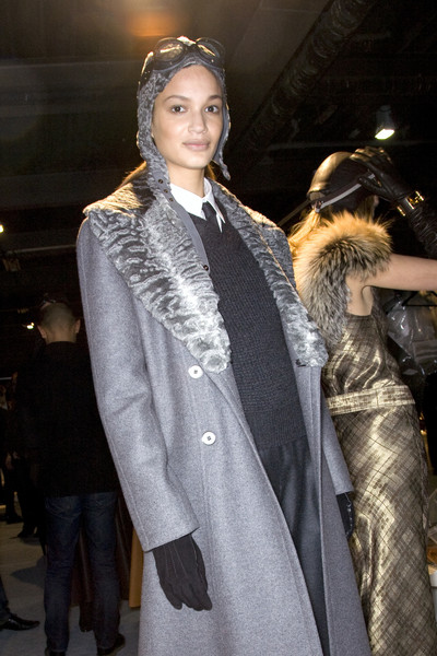 Hermès at Paris Fall 2009 (Backstage)