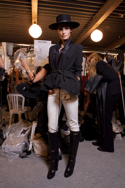 Hermès at Paris Spring 2011 (Backstage)