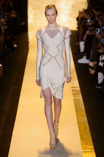 b496bd3be4d4 Hervé Léger by Max Azria at New York Fashion Week Fall 2015 - Livingly