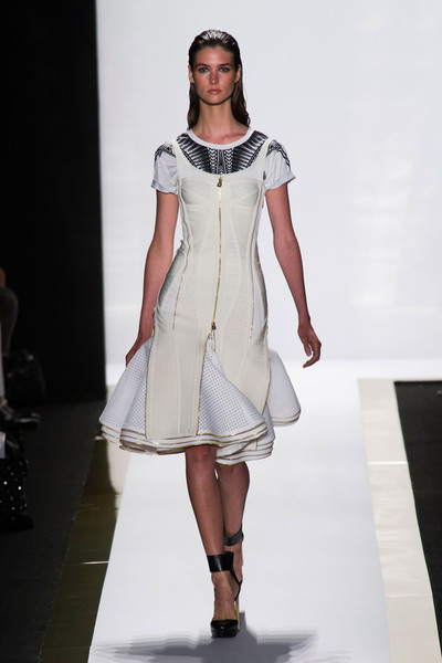 Hervé Léger by Max Azria at New York Spring 2014