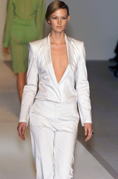 Hugo Boss at Milan Spring 2001