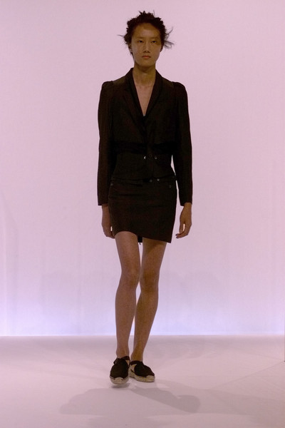 Hussein Chalayan at Paris Spring 2002
