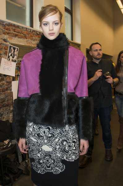Iceberg at Milan Fall 2013 (Backstage)