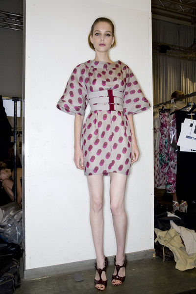 Iceberg at Milan Spring 2009 (Backstage)