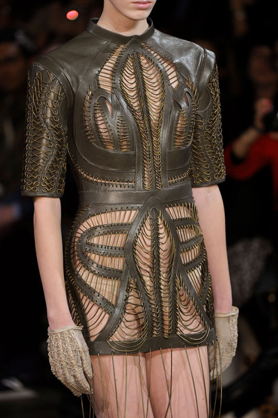 Iris Van Herpen at Couture Spring 2012 (Details) [fashion,fashion model,haute couture,fashion show,clothing,runway,dress,event,fashion design,see-through clothing,fashion designer,fashion,runway,haute couture,fashion design,clothing,model,fashion model,couture spring,fashion show,runway,haute couture,fashion,clothing,costume,fashion show,fashion design,model,jacket,fashion designer]