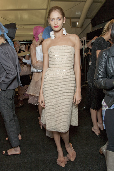 Isaac Mizrahi at New York Spring 2011 (Backstage)