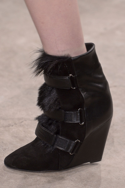 Isabel Marant's Furry Velcro Boots