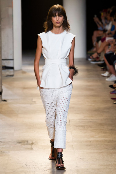 Isabel Marant at Paris Spring 2015