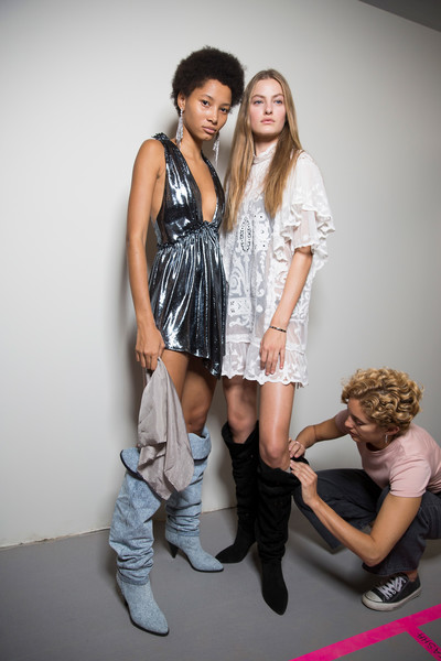 Isabel Marant at Paris Spring 2019 (Backstage)