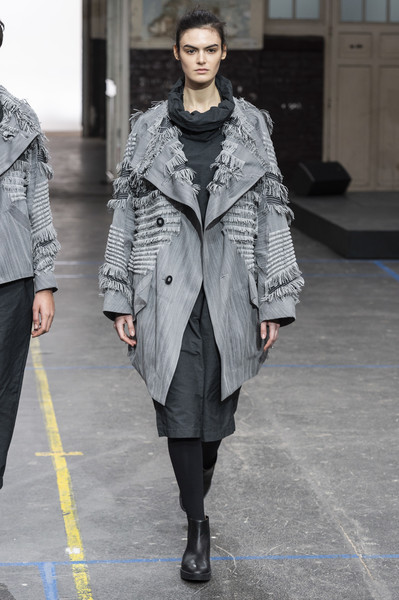 Issey Miyake at Paris Fall 2019 [fashion model,clothing,fashion,fashion show,coat,street fashion,overcoat,outerwear,runway,human,issey miyake,fashion,runway,fashion week,haute couture,street fashion,coat,paris fashion week,fashion show,london fashion week,runway,issey miyake,paris fashion week,fashion show,london fashion week,fashion,fashion week,haute couture,ready-to-wear,clothing]