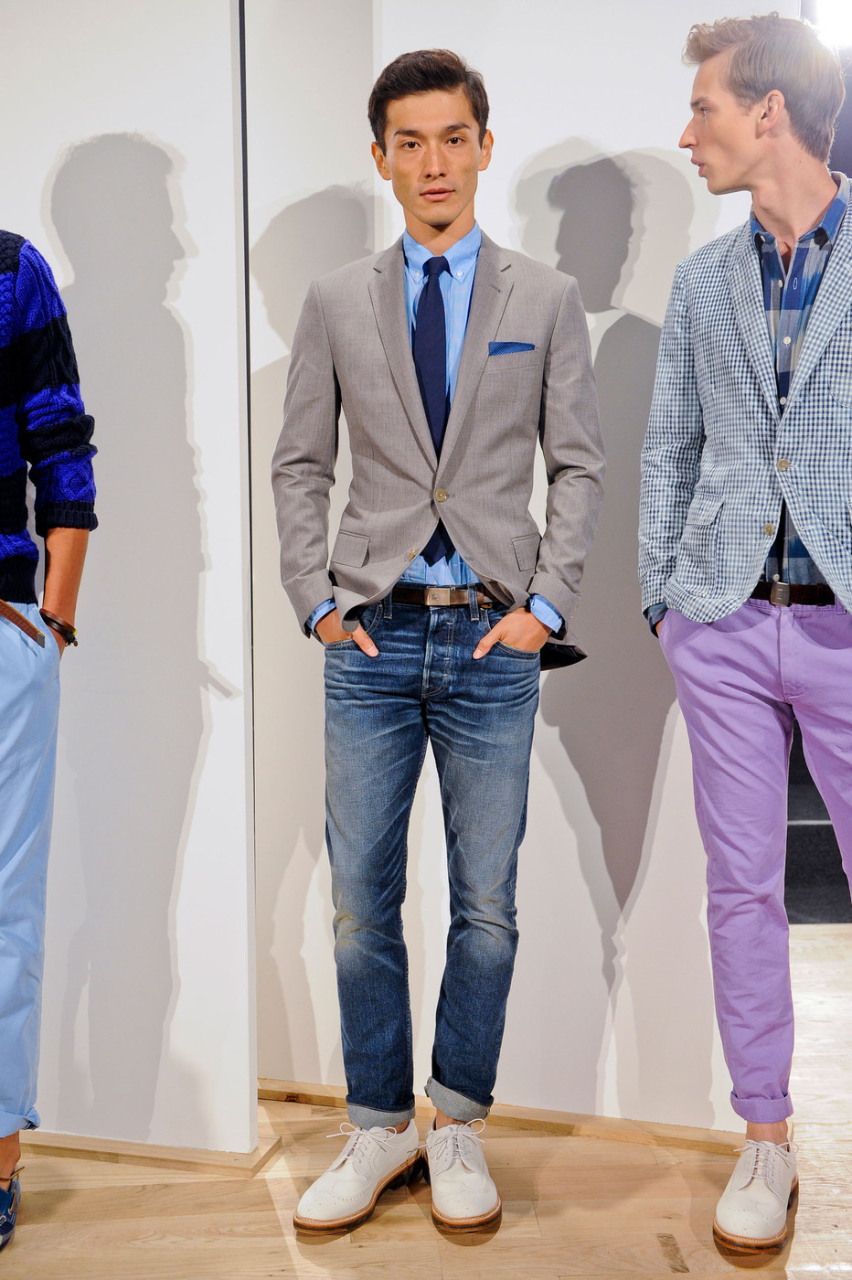 J crew mens at new york fashion week spring 2013 livingly for J crew mens outfits