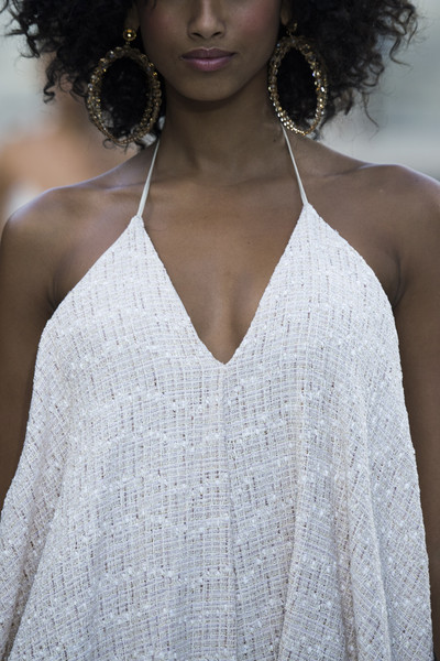 Jacquemus at Paris Spring 2019 (Details) [hair,white,clothing,shoulder,fashion model,beauty,dress,hairstyle,fashion,skin,gown,supermodel,fashion,haute couture,model,photography,pence,photo shoot,jacquemus,paris fashion week,haute couture,model,photo shoot,supermodel,fashion,gown,two pence,photography,beauty.m]