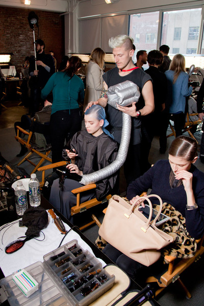 Jason Wu at New York Fall 2012 (Backstage)