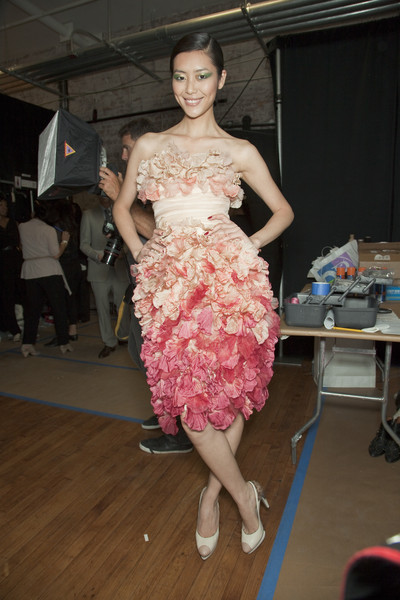 Jason Wu at New York Spring 2011 (Backstage)