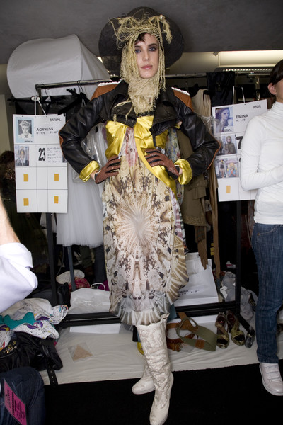 Jean Paul Gaultier at Paris Spring 2008 (Backstage)