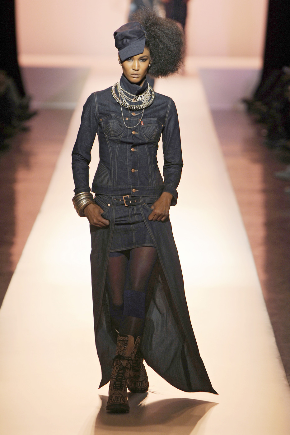 jean paul gaultier at paris fashion week spring 2010 livingly. Black Bedroom Furniture Sets. Home Design Ideas