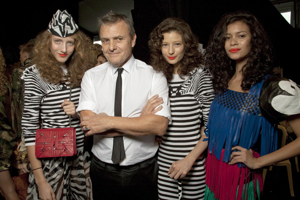 Jean-Charles de Castelbajac at Paris Spring 2011 (Backstage)