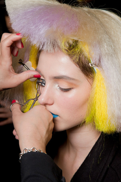 Jeremy Scott at New York Fall 2012 (Backstage)