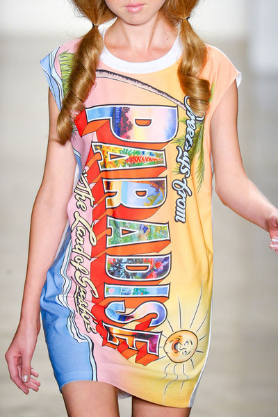 Jeremy Scott at New York Spring 2012 (Details)