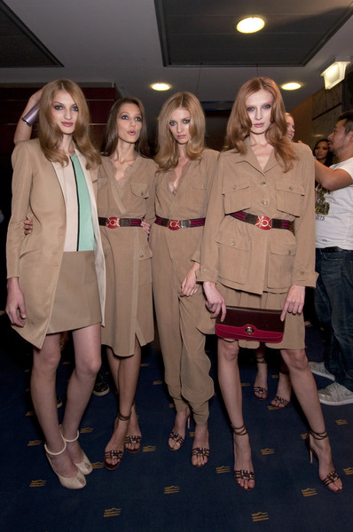 Jo No Fui at Milan Spring 2011 (Backstage)