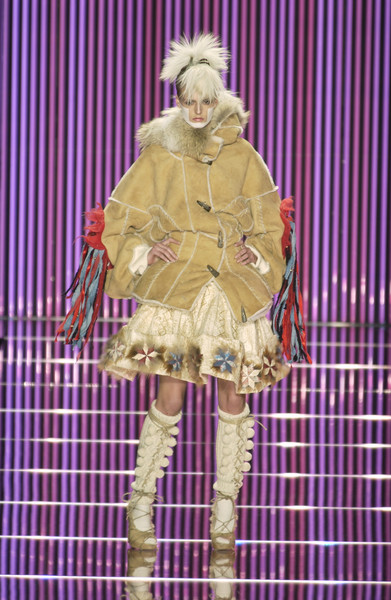 John Galliano at Paris Fall 2002