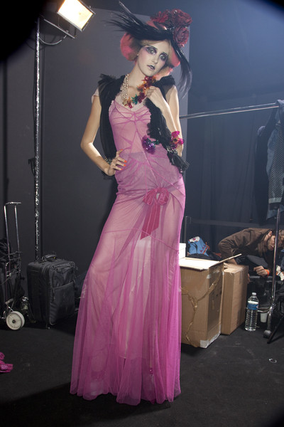 John Galliano at Paris Spring 2010 (Backstage)